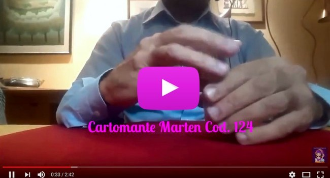 CartomanziaLuna.COM - Video Cartomante Marten Cod.124