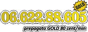 Numero prepagato GOLD
