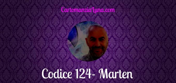 Cartomanzia professionale Marten Cod.124