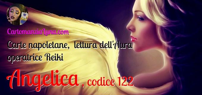 Lettura Aura, carte napoletane Angelica codice 152